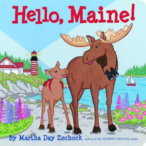 Martha Day Zschock Hello Maine!