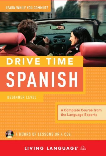 Living Language Drive Time Spanish Beginner Level