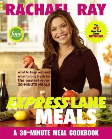 Food Network Rachael Ray Express Lane Meals What To Keep On Hand What To Buy Fresh For The E