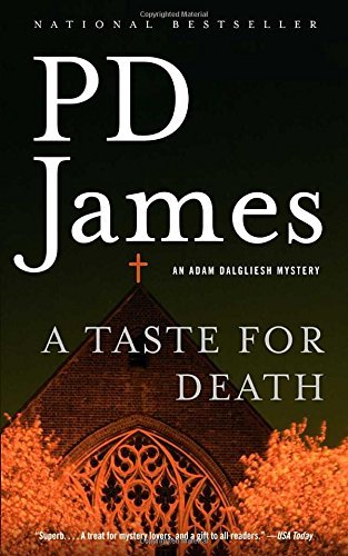 P. D. James A Taste For Death