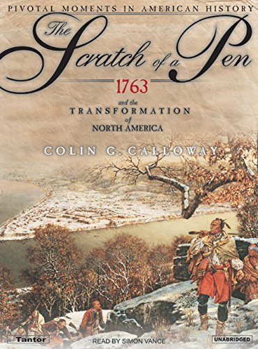 Colin G. Calloway The Scratch Of A Pen 1763 And The Transformation Of North America