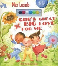 Max Lucado God's Great Big Love For Me A John 3 16 Book [with Interactive Colorful Beads