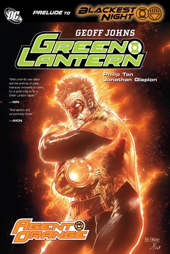 Geoff Johns Green Lantern Agent Orange