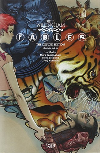 Bill Willingham Fables The Deluxe Edition Book One Deluxe