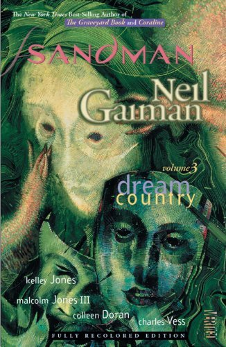 Neil Gaiman The Sandman Vol. 3 Dream Country (new Edition)