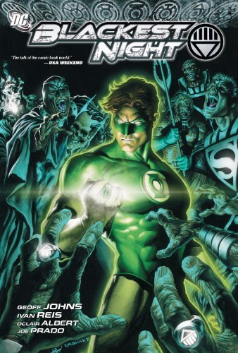 Geoff Johns Green Lantern Blackest Night