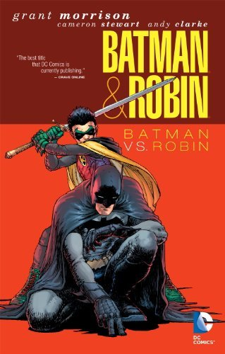 Grant Morrison Batman & Robin Batman Vs. Robin