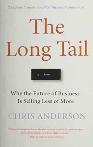 Chris Anderson The Long Tail Why The Future Of Business Is Selling Less Of Mor