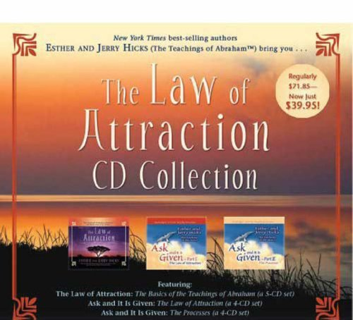 Hicks Esther & Jerry Law Of Attraction CD Collectio Import Aus 13 CD Set