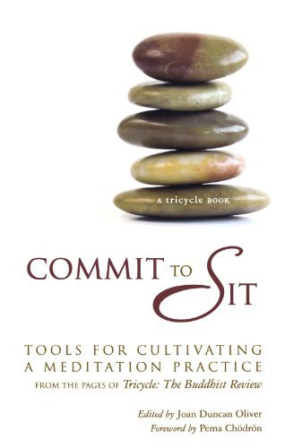 Joan Duncan Oliver Commit To Sit Tools For Cultivating A Meditation Practice