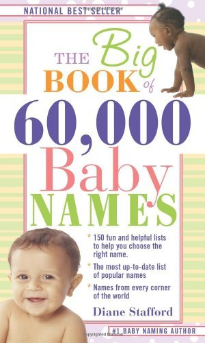 Diane Stafford The Big Book Of 60 000 Baby Names