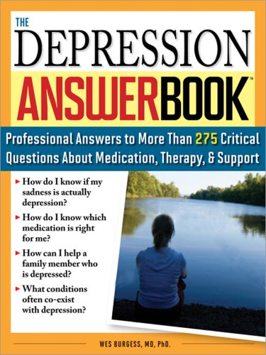Wes Burgess The Depression Answer Book Professional Answers To More Than 275 Critical Qu