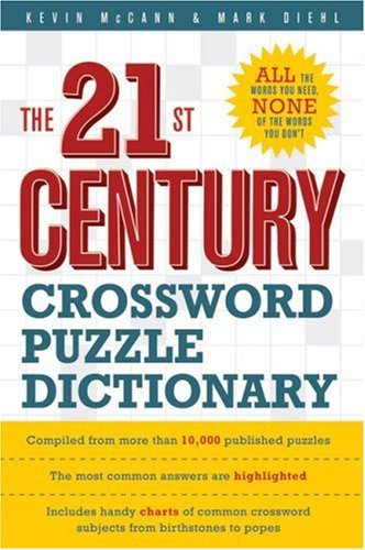 Kevin Mccann The 21st Century Crossword Puzzle Dictionary