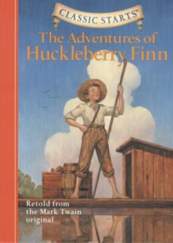 Mark Twain Classic Starts The Adventures Of Huckleberry Finn