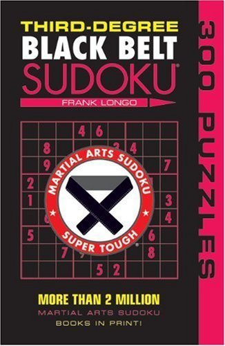 Frank Longo Third Degree Black Belt Sudoku