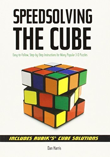 Dan Harris Speedsolving The Cube Easy To Follow Step By Step Instructions For Man