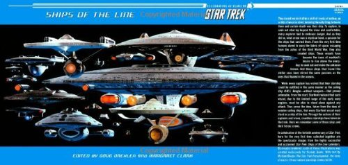 Margaret Clark Ships Of The Line Celebrating 40 Years Of Star Trek