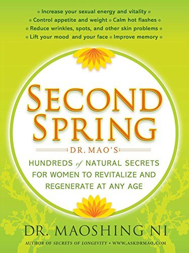 Maoshing Ni Second Spring Dr. Mao's Hundreds Of Natural Secrets For Women T