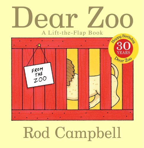 Rod Campbell Dear Zoo A Lift The Flap Book 0030 Edition;anniversary