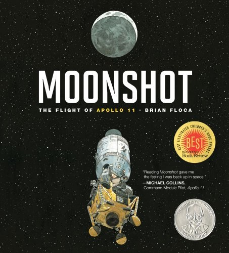 Brian Floca Moonshot The Flight Of Apollo 11