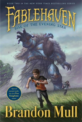 Brandon Mull Rise Of The Evening Star Fablehaven