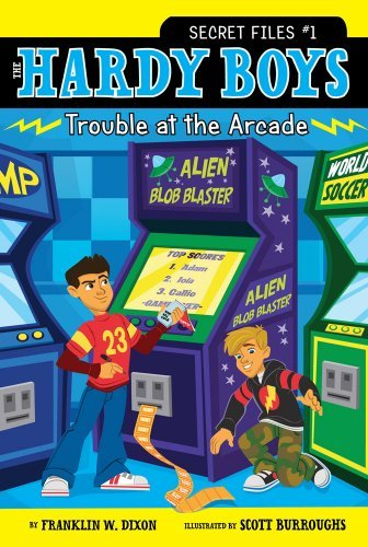 Franklin W. Dixon Trouble At The Arcade