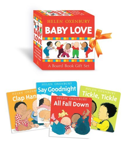 Helen Oxenbury Baby Love A Board Book Gift Set All Fall Down; Clap Hands;