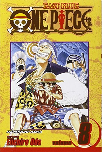 Eiichiro Oda One Piece Volume 8