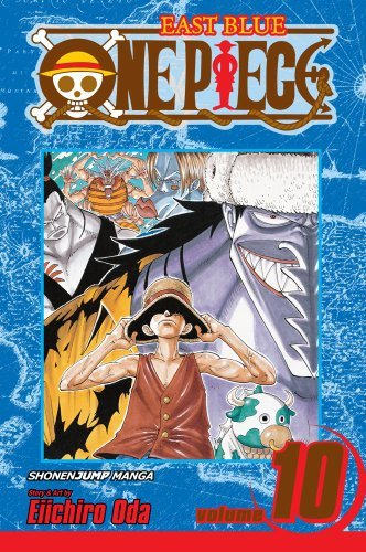 Eiichiro Oda One Piece Volume 10