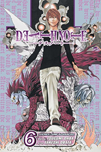 Tsugumi Ohba Death Note Volume 6