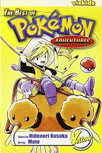 Hidenori Kusaka The Best Of Pokemon Adventures Yellow
