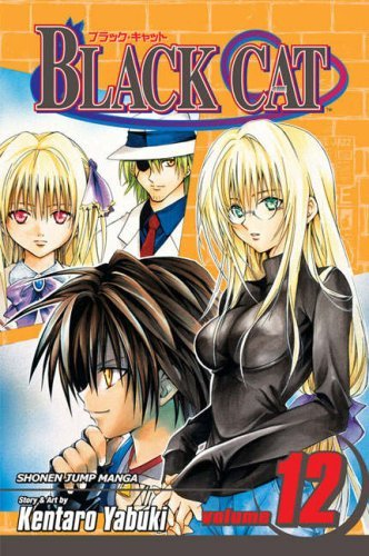 Kentaro Yabuki Black Cat Volume 12