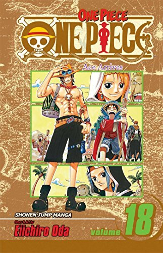 Eiichiro Oda One Piece Volume 18