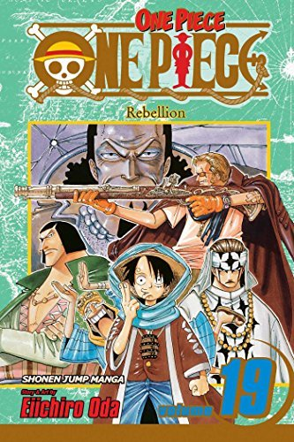 Eiichiro Oda One Piece Volume 19 Rebellion [with Bonus Sticker]
