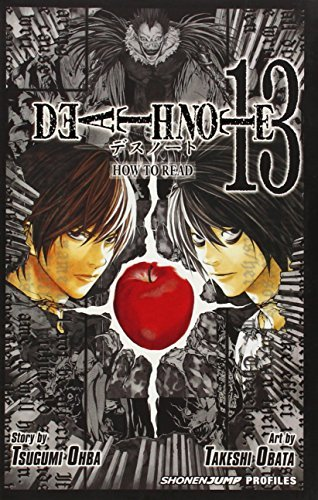 Tsugumi Ohba Death Note Volume 13 How To Read