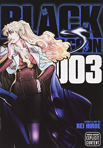 Rei Hiroe Black Lagoon Vol. 3