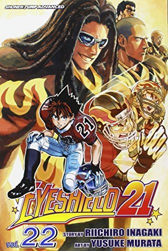 Riichiro Inagaki Eyeshield 21 Volume 22 [with Bonus Sticker]