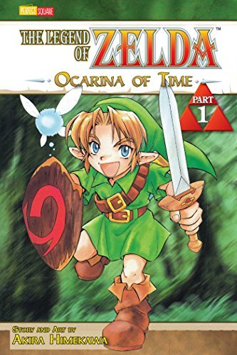 Akira Himekawa The Legend Of Zelda Volume 1 Ocarina Of Time
