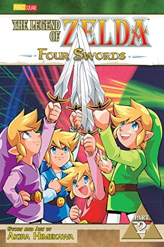 Akira Himekawa The Legend Of Zelda Four Swords Part 2