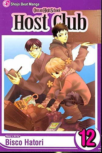 Bisco Hatori Ouran High School Host Club Vol. 12