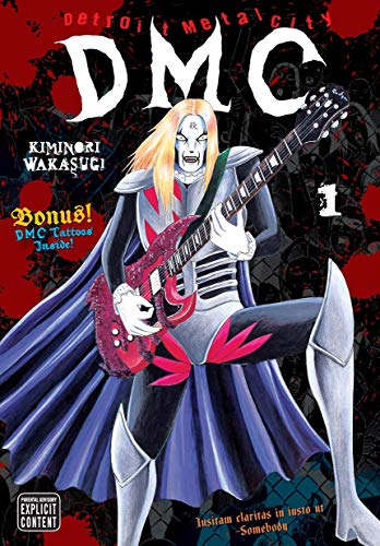 Kiminori Wakasugi Detroit Metal City Volume 1 [with Tattoos]