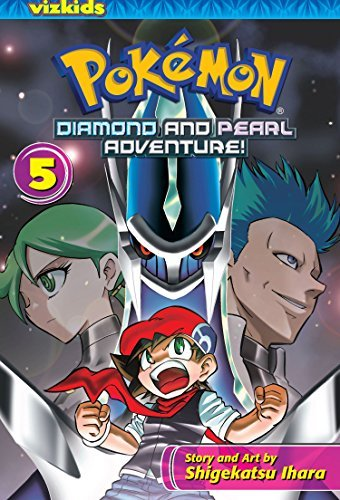 Shigekatsu Ihara Pokemon Diamond And Pearl Adventure! Volume 5