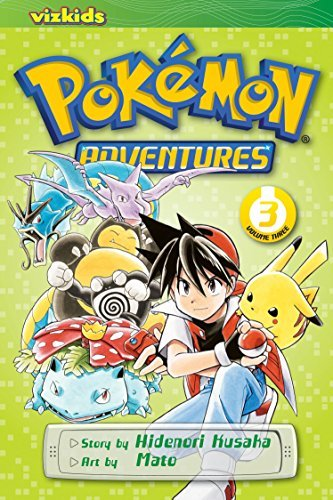 Hidenori Kusaka Pokemon Adventures Volume 3