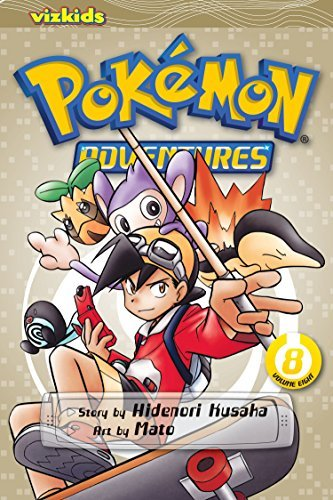 Hidenori Kusaka Pokemon Adventures Volume 8