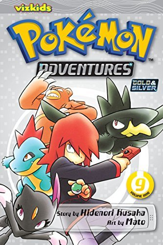 Hidenori Kusaka Pokemon Adventures Volume 9