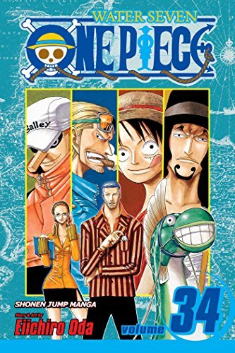 Eiichiro Oda One Piece Volume 34