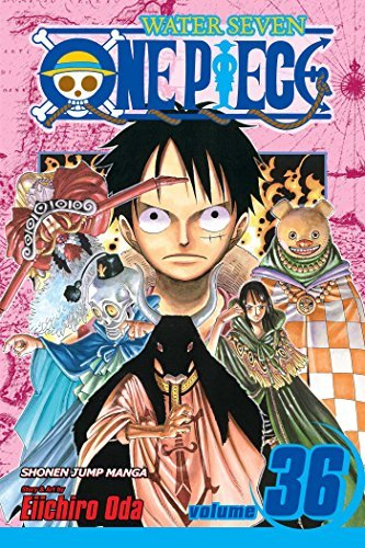 Eiichiro Oda One Piece Volume 36