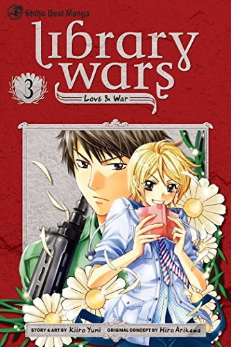 Hiro Arikawa Library Wars Love & War Volume 3