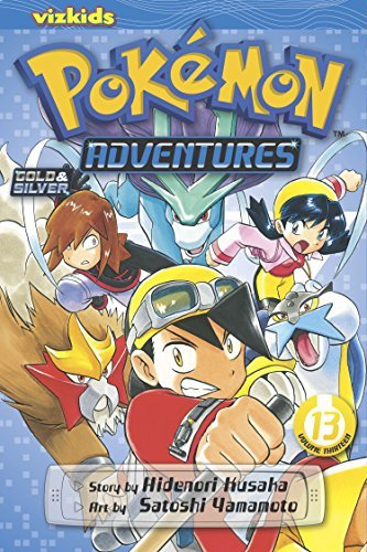 Hidenori Kusaka Pokemon Adventures Volume 13