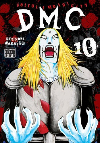 Kiminori Wakasugi Detroit Metal City Volume 10